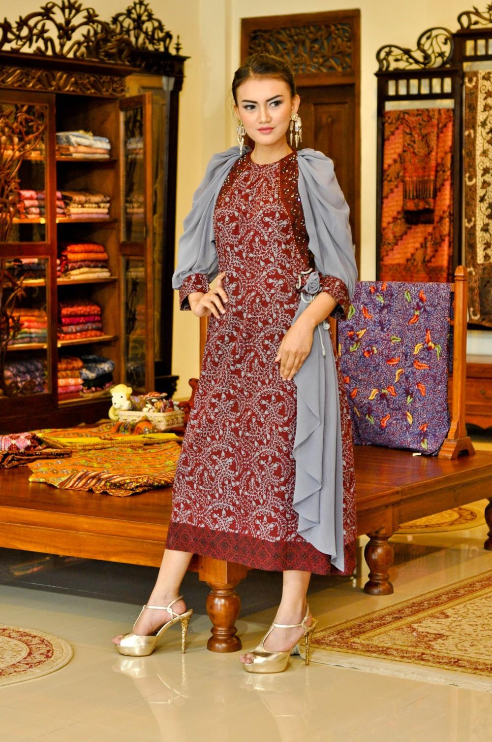 Batik Fashion - Model Baju Batik Modern Afif Syakur