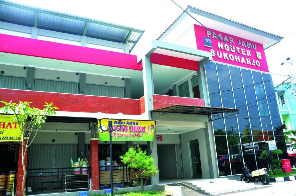 Sentra Jamu Pasar Nguter Sukoharjo Jawa Tengah