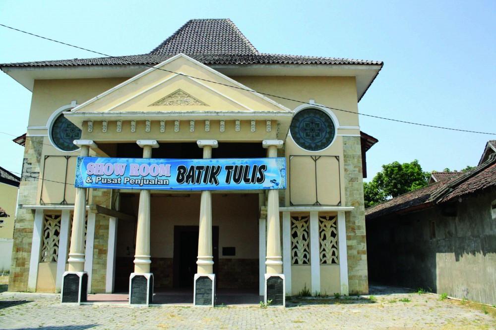 showrom batik tulis lasem jawa tengah