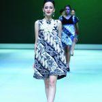 Batik Fashion - Model Dress Batik Dewi Syifa